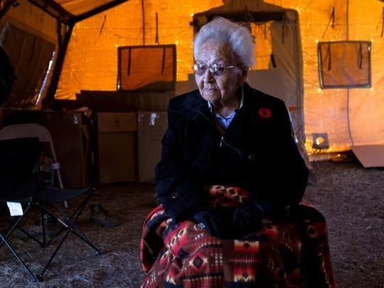 Marcella LeBeau, a World War II U.S. Army nurse veteran