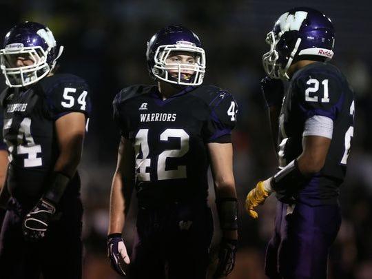 Waukee High School linebacker Drew Lienemann talks