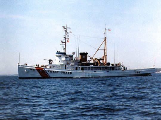 This image of the Coast Guard Cutter Tamaroa was shot