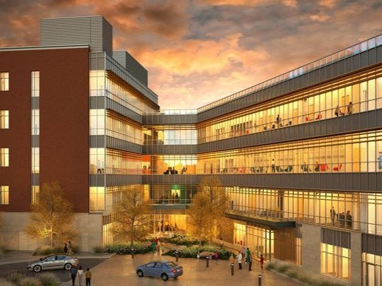 Ball State's College of Health will be under construction