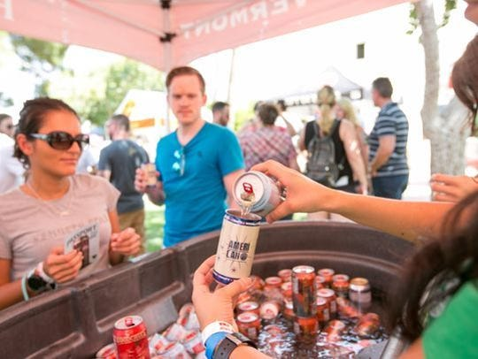 The annual AmeriCAN Canned Craft Beer Fest features canned craft beers from breweries around Arizona and the U.S.