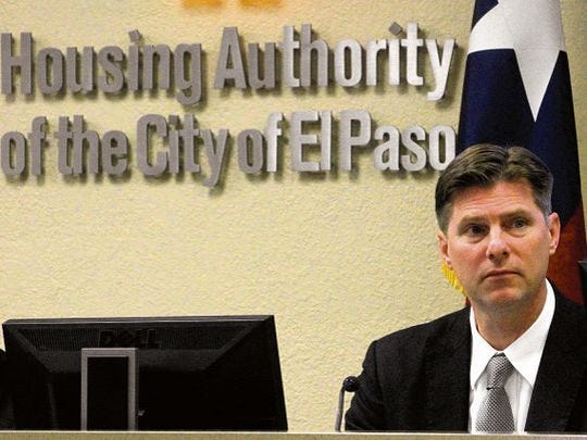 Gerald Chichon is CEO of the El Paso Housing Authority.