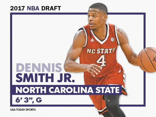 North Carolina State guard Dennis Smith Jr.