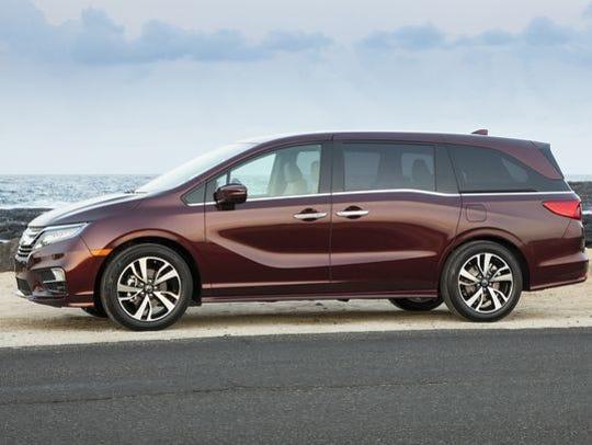 The new Honda Odyssey.