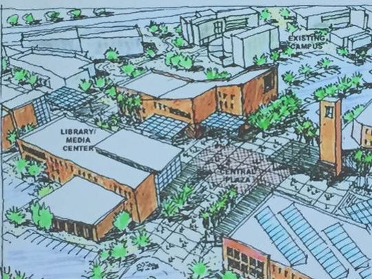 The master plan unveiled by Cal State University San