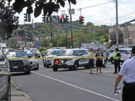 The Monsey scene of the 'road rage' incidents on Route
