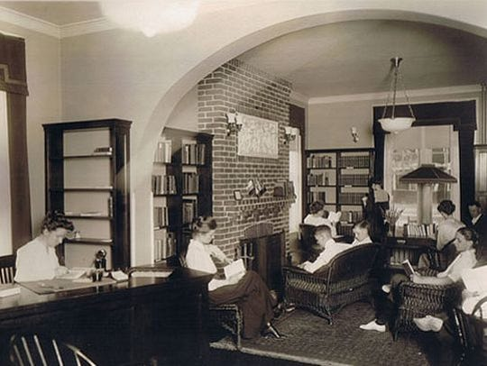 Your Home Public Library was founded in 1917.
