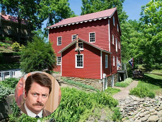 Ron Swanson is Wallace-Cross Mill Historic Site park because of the history there.