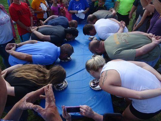 A pie eating contest is among the popular events slated