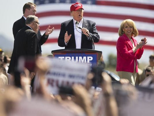 Poll shows Donald Trump's approval sinking in Arizona