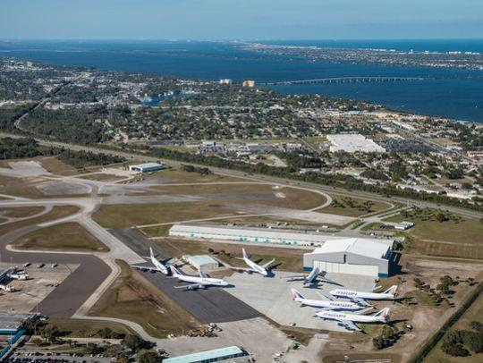 Orlando Melbourne International Airport.