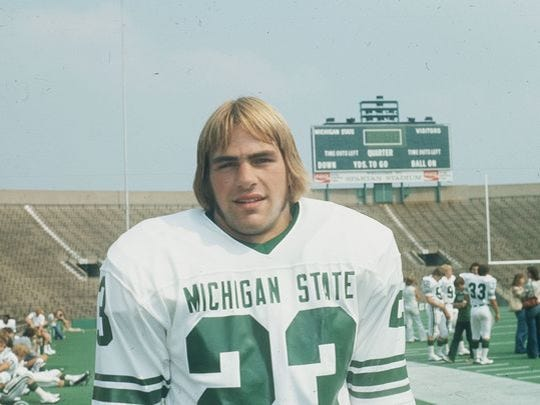 "Kirk Gibson, now 60, will have his name added Saturday to the Michigan State football program's Spartan Stadium ""Ring of Fame."""