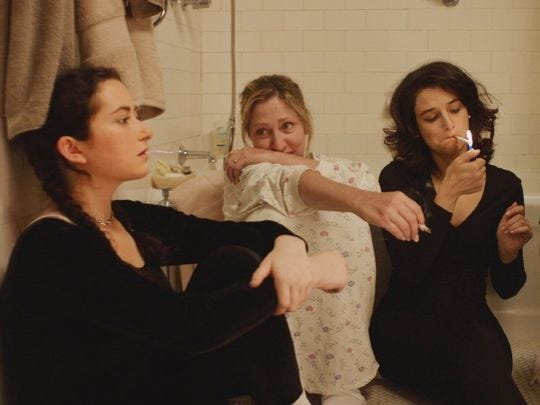 """A Manhattan family puts the fun in dysfunction in Gillian Robespierre's comedy """"Landline,"""" set in the pre-iPhone era, with Jenny Slate, John Turturro, Edie Falco and Abby Quinn. Showing 7 p.m. Oct. 12 at the Oriental."""