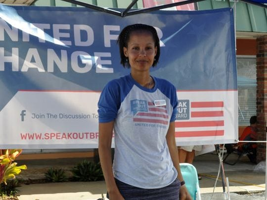 Tess Martin is the president of Speak Out Brevard,