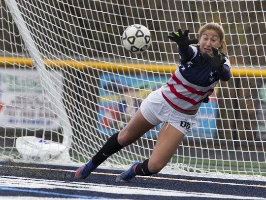 East Brunswick's Lauren Krinsky is the Home News Tribune's Girls Soccer Co-Player of the Year