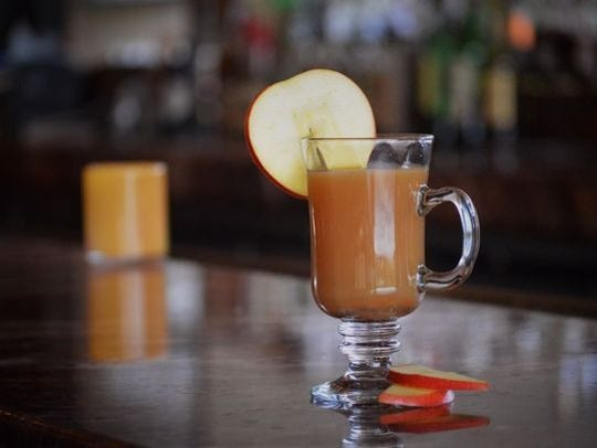 The Hot Spiced Rum Cider from J&G Steakhouse at The