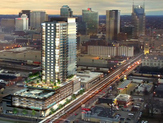 Mixed-use rendering