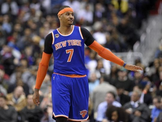 The Carmelo Anthony saga ended with the Knicks trading