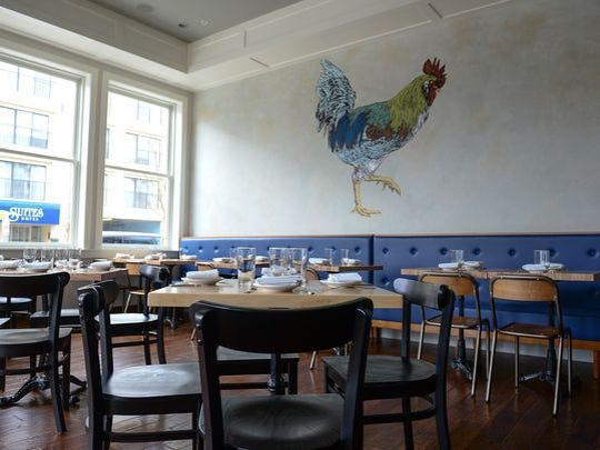 The Blue Hen restaurant on Wilmington Avenue in Rehoboth Beach is open year-round.