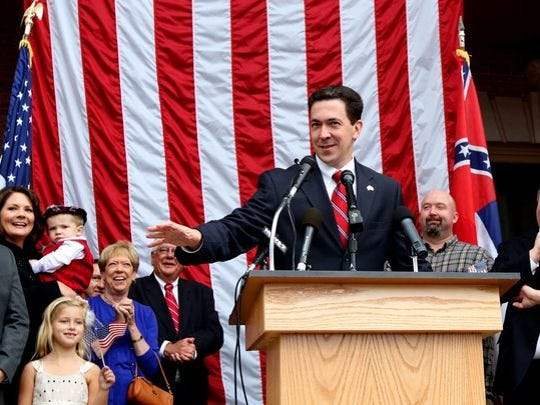 State Sen. Chris McDaniel announces his bid for U.S.