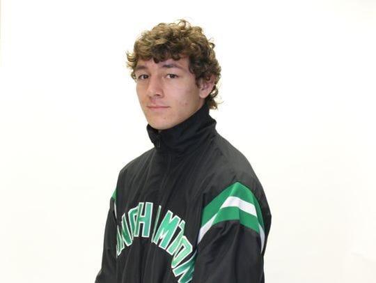 Binghamton University's Frankie Garcia (Norwich) will