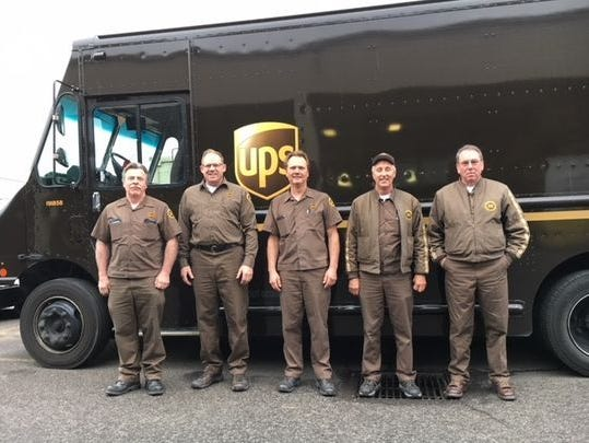 UPS recognizes Salem drivers for 25-plus years without an accident with induction into the Circle of Honor.
