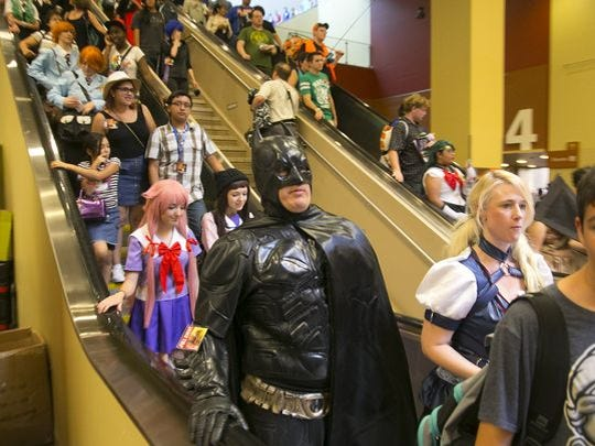 At Phoenix Comic Fest (formerly Phoenix Comicon), there's also plenty of activities for kids including, LEGO builds, cos play, face painting, drawing, and fandom fashion shows. Comic Fest is May 24-27.