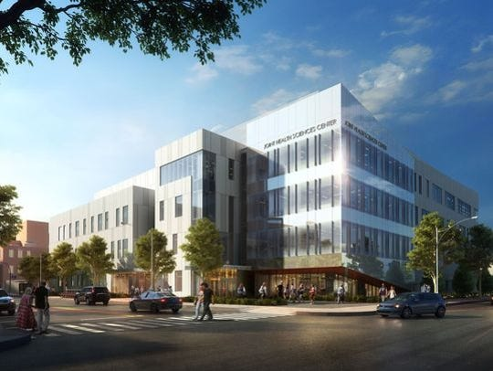 An artist's rendering shows what the Joint Health and