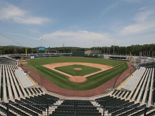 Ramapo baseball stadium where the Rockland Boulders