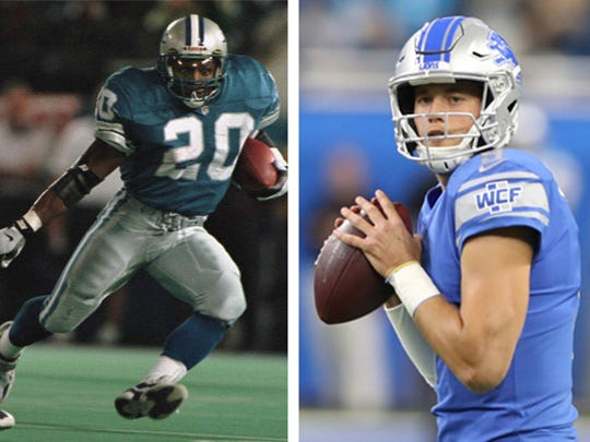 1 Barry Sanders vs. 15 Matthew Stafford