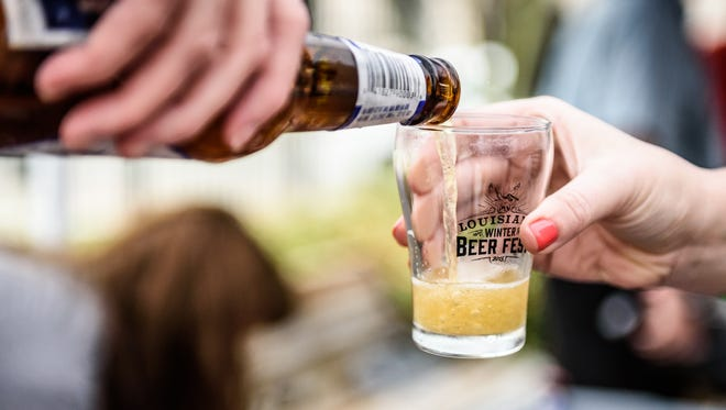 The Louisiana Winter Beer Festival offers an interesting mix of local, regional and national beers for attendees to sample.