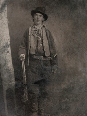 Commonly referred to as the Upham tintype, this is the only authenticated image of Billy the Kid. Taken around 1879 or 1880 in Fort Sumner, it sold at auction for $2.3 million in 2011.