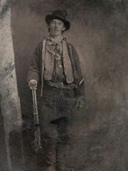 Curator Jeffrey Richardson presents a lecture on Billy the Kid Wednesday night at the Farmington Museum at Gateway Park.