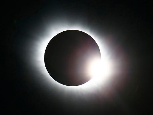 The total solar eclipse seen from Svalbard, Norway