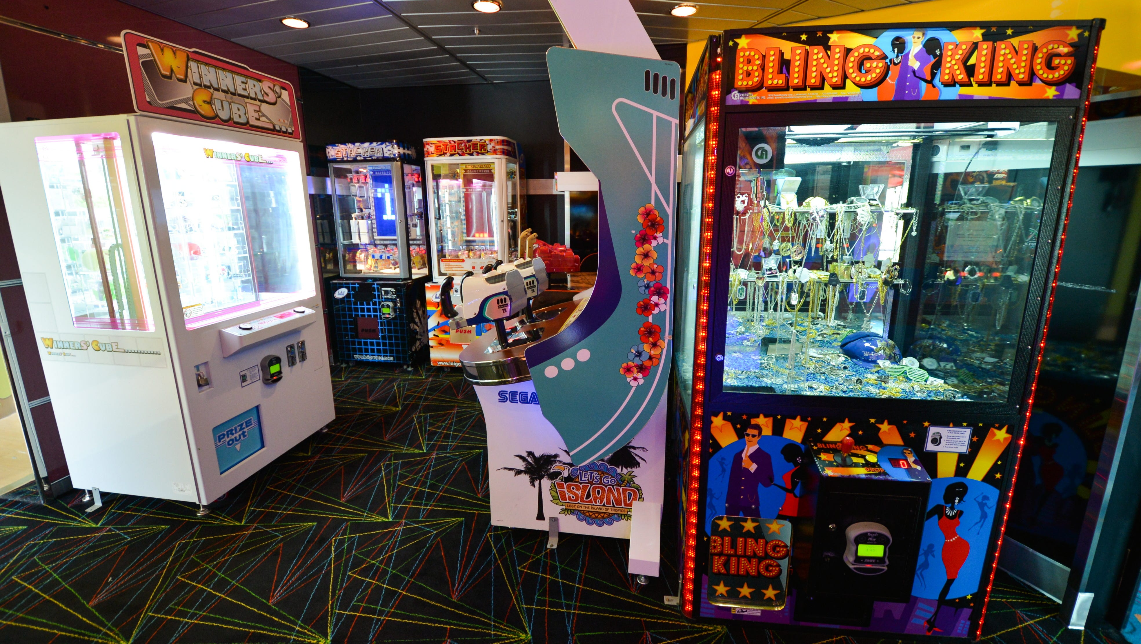 The Deck 10 arcade.