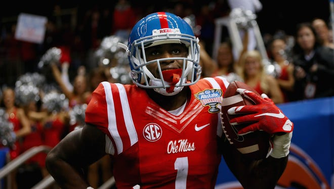 Mississippi receiver Laquon Treadwell is the consensus No. 1 receiver in this year's draft.