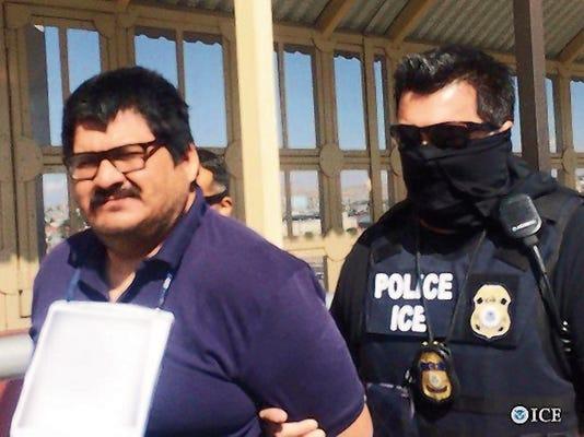 Jesus Gabriel Ibarra Espinoza was deported Friday by U.S. Immigration and Customs Enforcement in El Paso