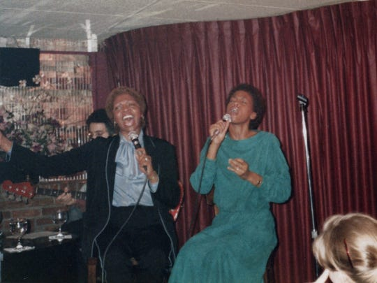 """Whitney"" shows how Whitney Houston began her singing career performing with her mother, Cissy Houston."
