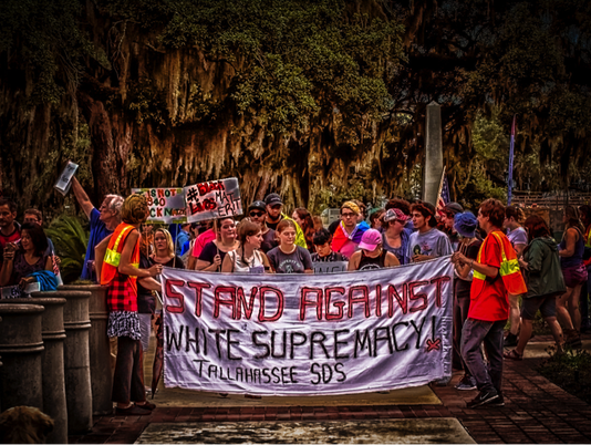 Rally Against White Supremacy