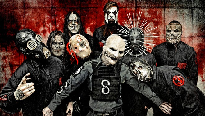 Slipknot is one of the headliners for the Oct. 1-2 Louder Than Life festival at Louisville's Champion Park.