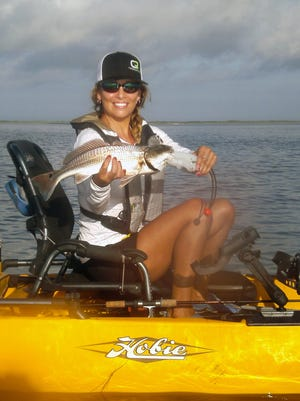 Several Coastal Bend guides offer kayak-fishing charters for clients with or without their own kayak.