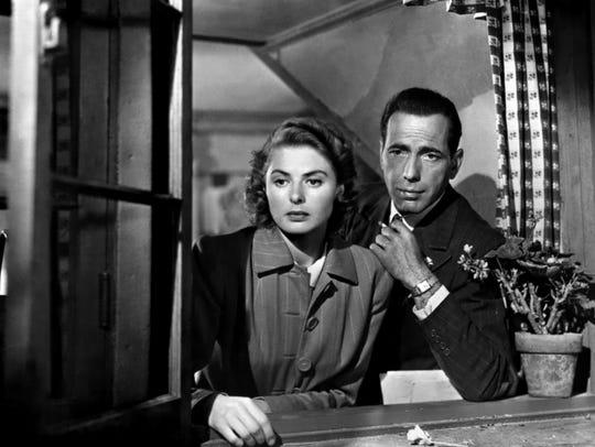 "They'll always have Paris: Bergman and Bogart in ""Casablanca."""