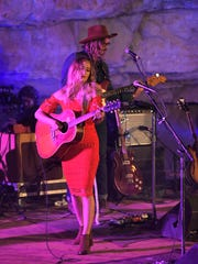 Margo Price performs at Bluegrass Underground during