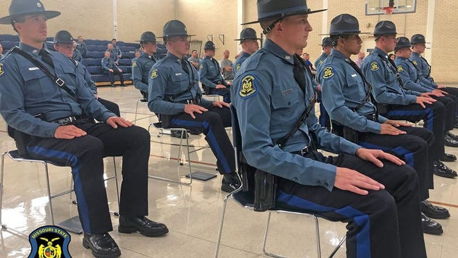 21 New Troopers Graduate From Missouri State Highway Patrol Law Enforcement Academy.