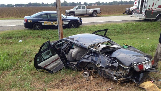 Two injured in Natchez train-car crash Friday