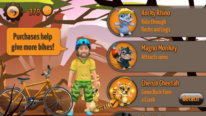 'Sidekick Cycle' donates half of in-game purchases to buy bikes for children in Africa.
