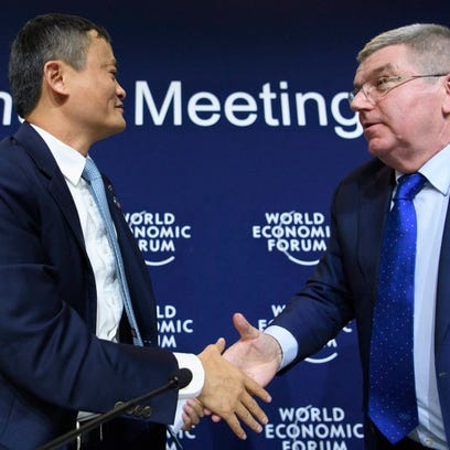 Davos: With Olympics deal, Alibaba burnishes China's global credentials