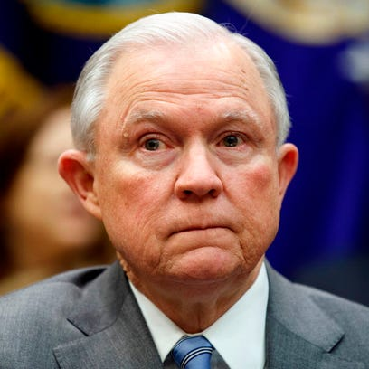 AG Jeff Sessions won't say if he would resign if Trump fires Mueller or Rosenstein