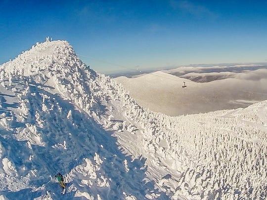 Jay Peak resort summit.