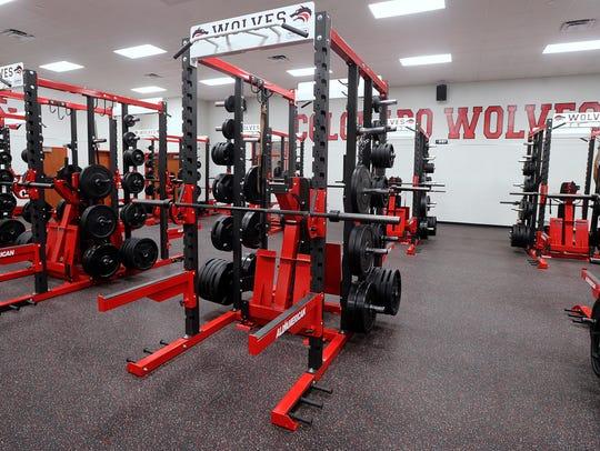 Colorado High School's new multipurpose facility has